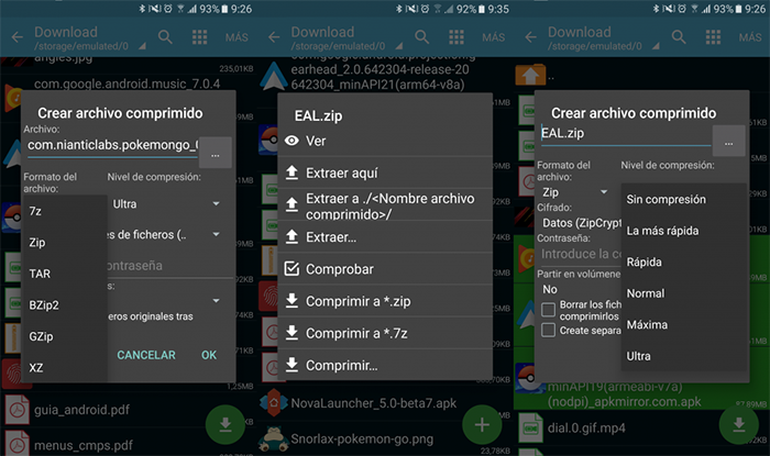 How to compress and decompress ZIP files on Android in an easy way