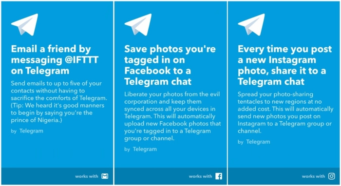 News from Telegram 3 15, update available on the Play Store